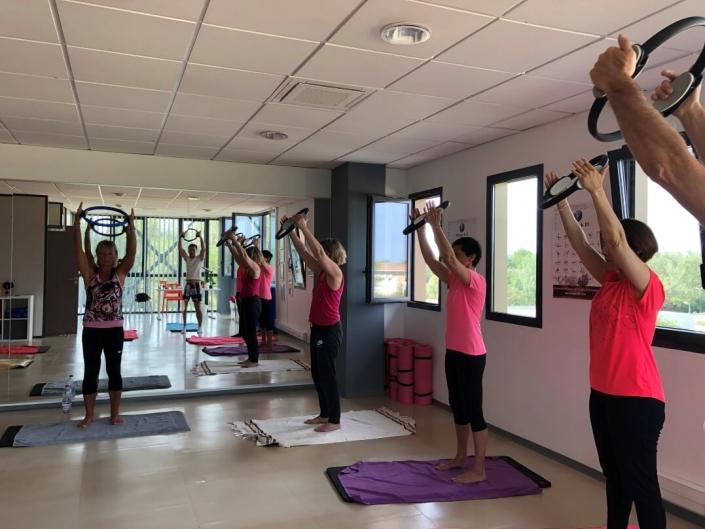Séance Pilates - Les ateliers du bien être